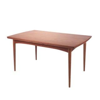 Vintage Teak Dining Table For Sale