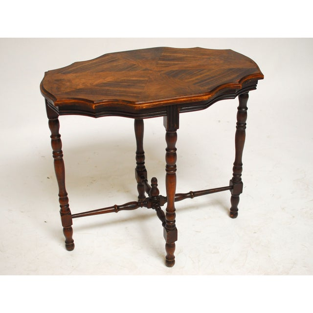 Mahogany Occasional Table - Image 4 of 6