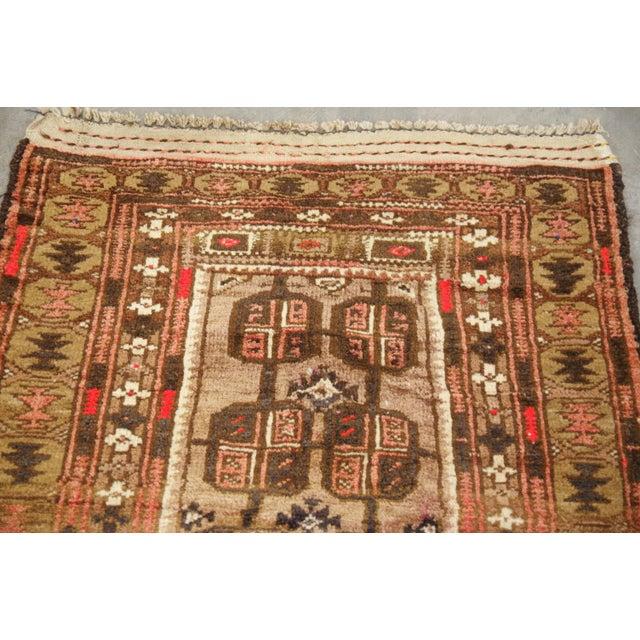 Vintage Baluchi Persian Rug - 2′5″ × 3′9″ - Image 4 of 6
