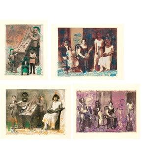 "Armando Romero ""Ingredientes Musicales"" Lithographs - Set of 4"