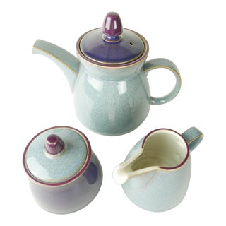 Denby Coffee and Tea Service - Set of 3 For Sale