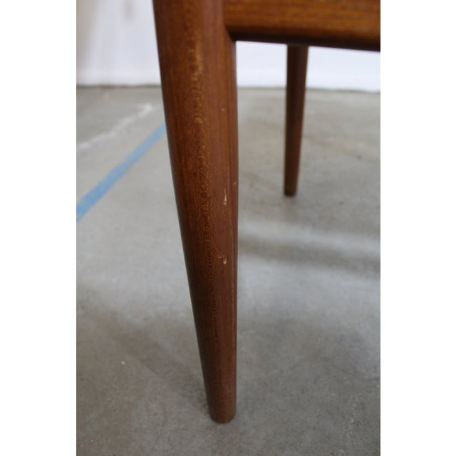 Set of 4 Mid-Century Modern Folke Ohlsson Style Teak Dining Chairs For Sale - Image 12 of 13