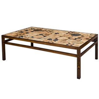Tue Poulsen Tile Coffee Table For Sale