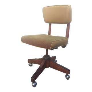 Vintage Mid-Century Rolling Office Chair