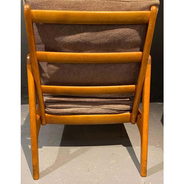 Wood France and Daverkosen Teak Armchairs, Mid-Century Modern For Sale - Image 7 of 13