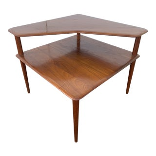1950s Peter Hvidt Minerva Corner Table For Sale