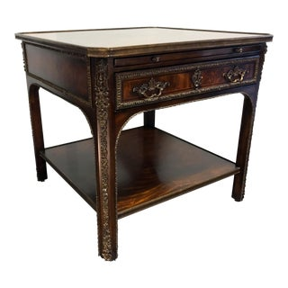 Theodore Alexander Althorp Flourish French Louis XVI End Accent Lamp Table 1 For Sale