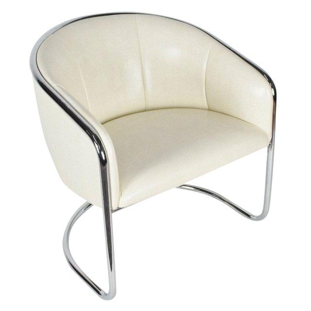 Thonet Barrel Back Club Chair For Sale