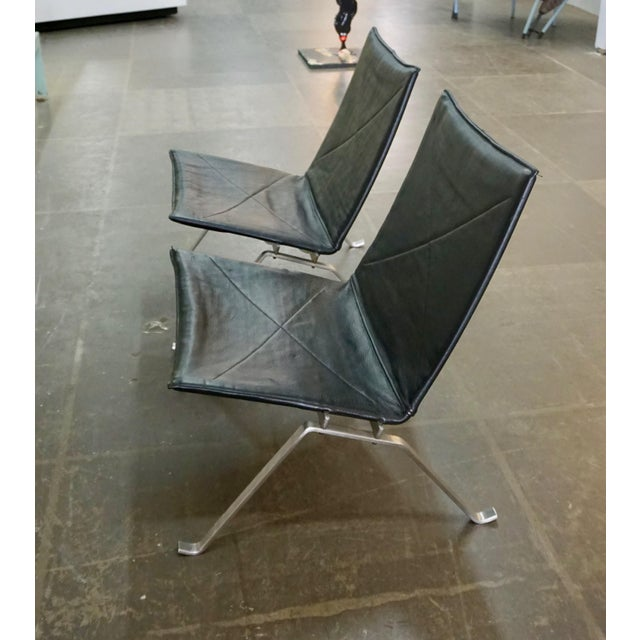Mid-Century Modern Pk 22 Lounge Chairs by Poul Kjaerholm - a Pair For Sale - Image 3 of 11