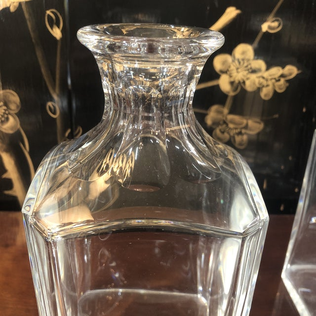 Baccarat Crystal Decanter For Sale - Image 6 of 10