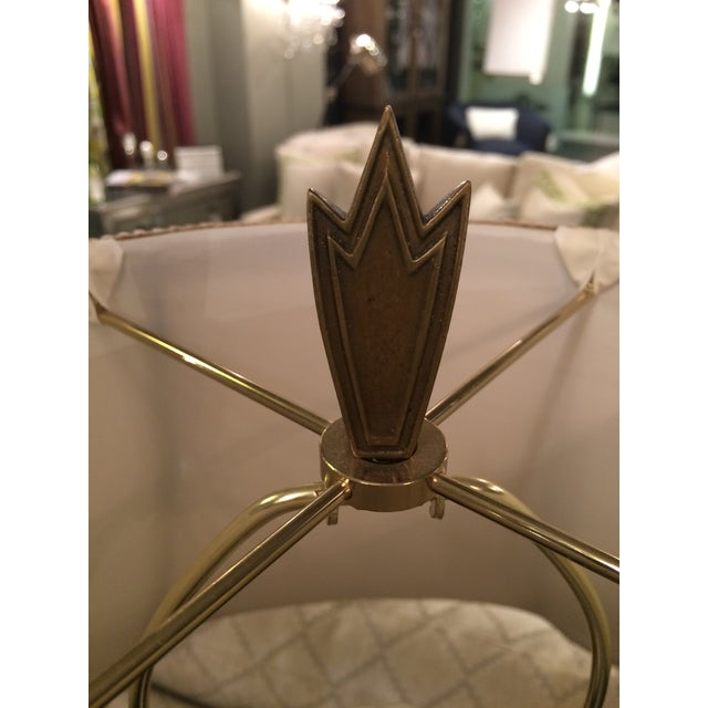 Gold Leaf Wildwood Lamp For Sale In Chicago - Image 6 of 8
