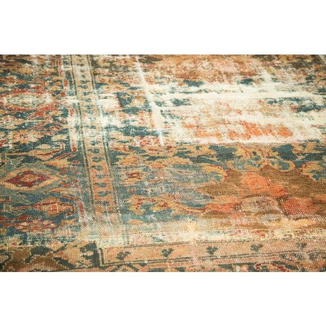 "Distressed Hamadan Carpet - 5'3"" x 7'11"" - Image 7 of 10"