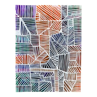 2015 Abstract Geometric Painting For Sale