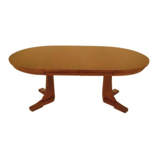 Stickley Round Arts & Crafts Extension Dining Table For Sale