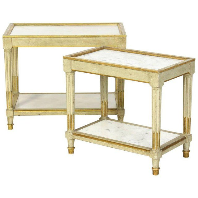 Italian Side Tables - a Pair - Image 10 of 10