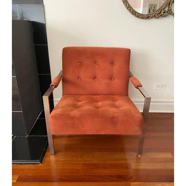 Thayer Coggin Milo Baughman for Thayer Coggin the 1937 Armchair For Sale - Image 4 of 9