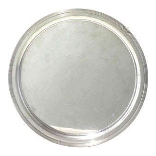 Mid-Century Modern Tiffany & Co Sterling Silver Tray For Sale