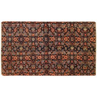 1920s Antique Persian Bidjar Rug - 4′6″ × 2′7″ For Sale