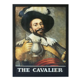 """English Pub Sign, """"The Cavalier"""" For Sale"""
