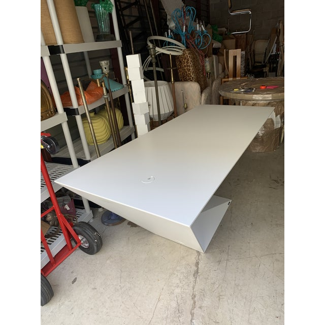 "Roche Bobois Postmodern Roche Bobois ""Furtif"" Writing Desk For Sale - Image 4 of 11"