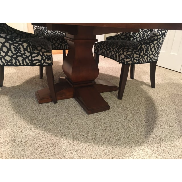 Restoration Hardware Round Dining Table - Image 3 of 10