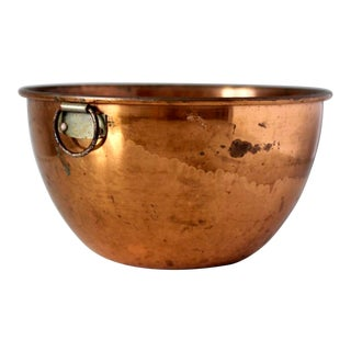Vintage Copper Kitchen Bowl