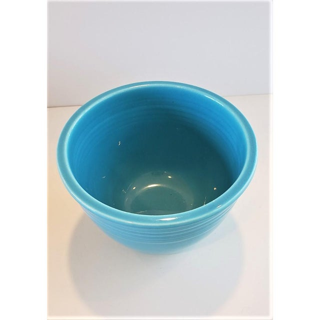 Rare Pristine Set of Vintage Fiesta Nesting Bowls 1930s For Sale - Image 4 of 13