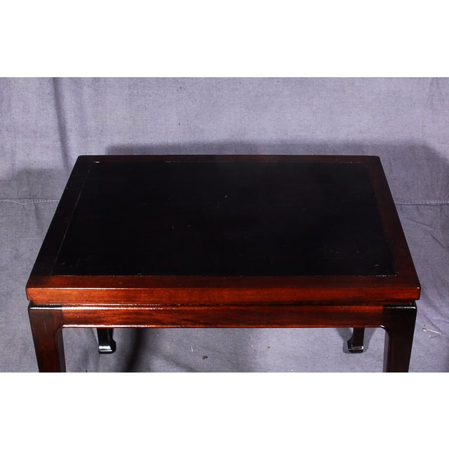 Mid-Century Modern Mahogany End Tables - A Pair - Image 7 of 7