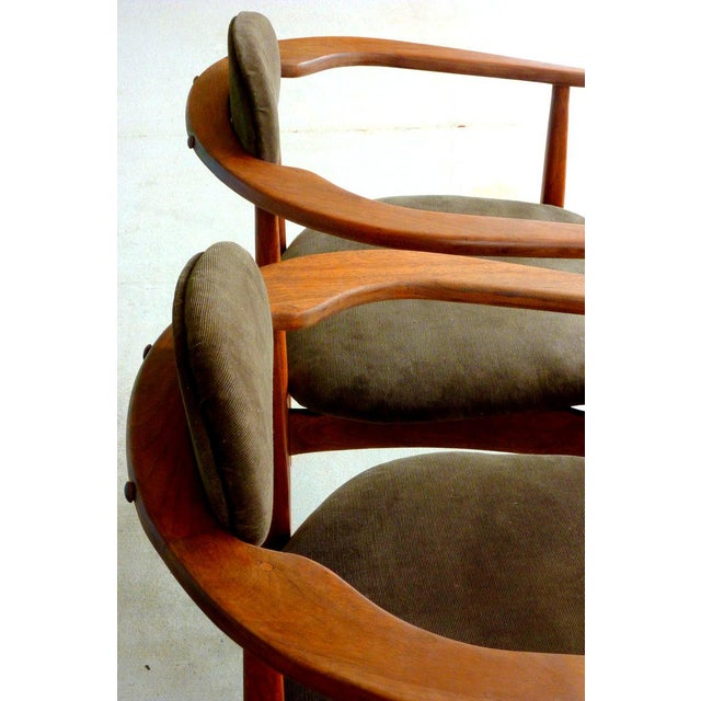 Craft Associates Adrian Pearsall Armchairs - A Pair For Sale - Image 4 of 10