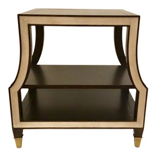 Ambella Home Modern Rive Gauche End Table For Sale