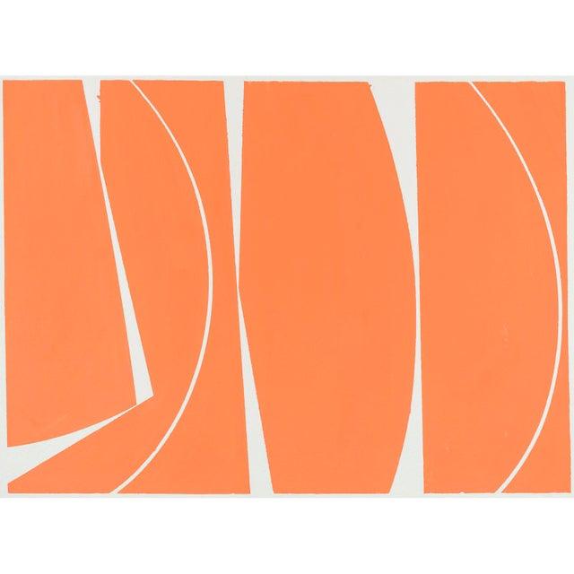 Covers 40 Orange, 2017, Gouache on handmade paper by Joanne Freeman. - Image 3 of 3