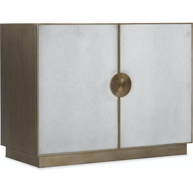 2020s Kenneth Ludwig Chicago Darcy Crackle Chest For Sale - Image 5 of 5