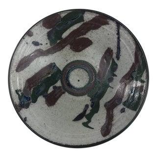 1980s Asian Peter Scott Studio Pottery Bowl For Sale
