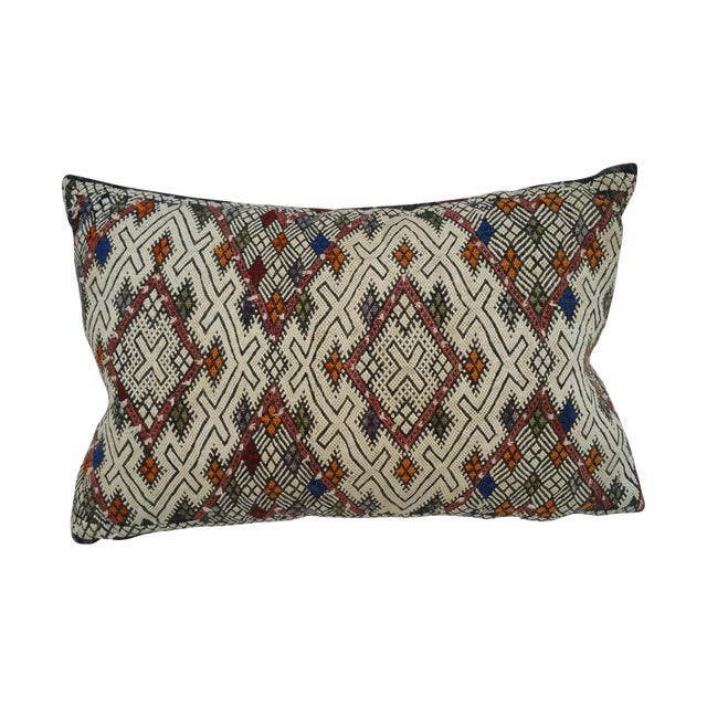 Turkish Tribal Hand Worked Pillow - Image 1 of 6