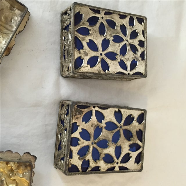 Vintage Japanese Jewelry Boxes - A Pair - Image 8 of 9