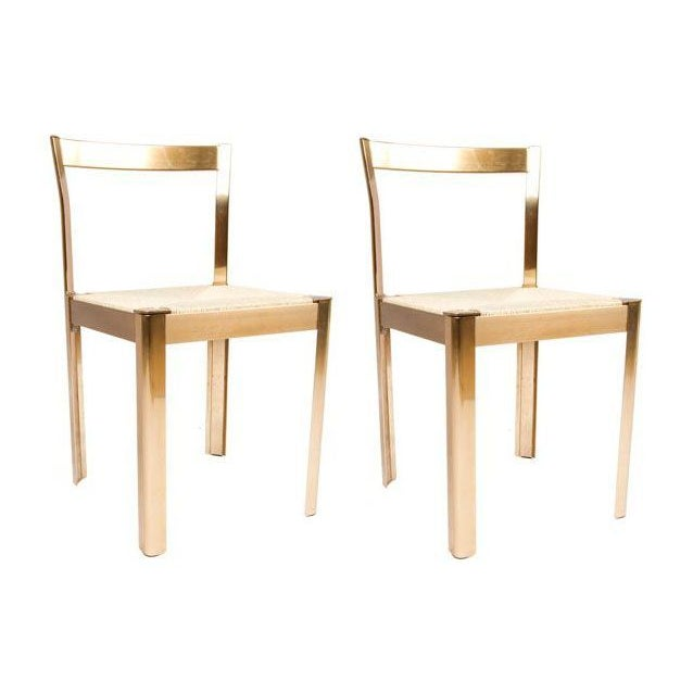 Vintage Italian Decorator Accent Chairs - A Pair For Sale