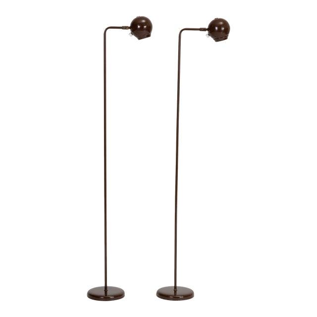 Single Eyeball Floor Lamp by Robert Sonneman for George Kovacs For Sale