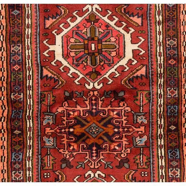 "Apadana - Vintage Persian Heriz, 2'4"" x 6'1"" For Sale - Image 4 of 5"
