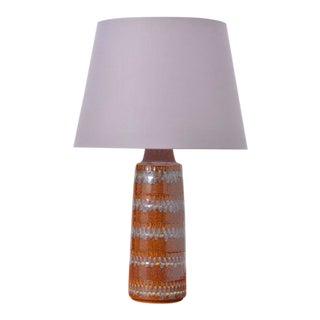 Vintage Ceramic Table Lamp From Søholm Stentøj For Sale