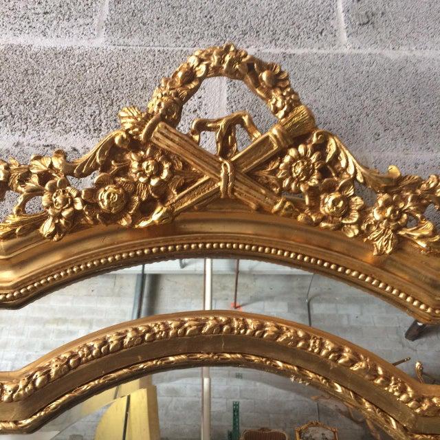 Louis XVI French Louis XVI Floor Mirror For Sale - Image 3 of 7
