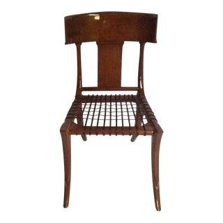 Mid-Century Modern Klismos Side Chair For Sale