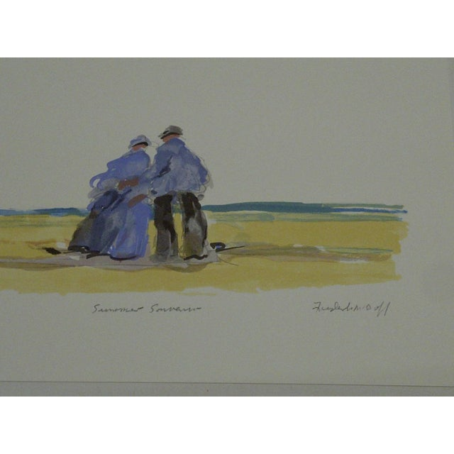 "Frederick McDuff ""Summer Souvenior"" Print - Image 6 of 6"