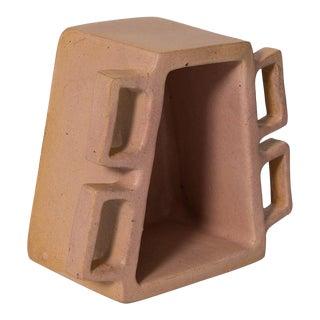 Ceramic Hand Built Vessel by Gabriela Valenzuela-Hirsch For Sale