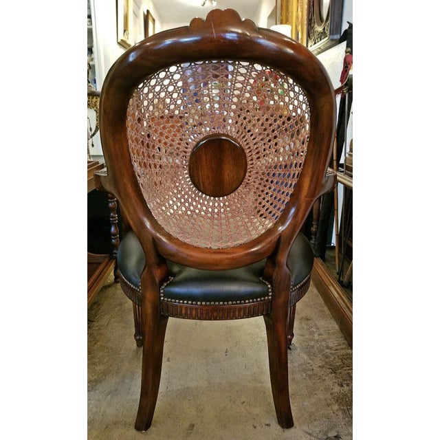 French Bergere Chair by Theodore Alexander For Sale In Dallas - Image 6 of 9