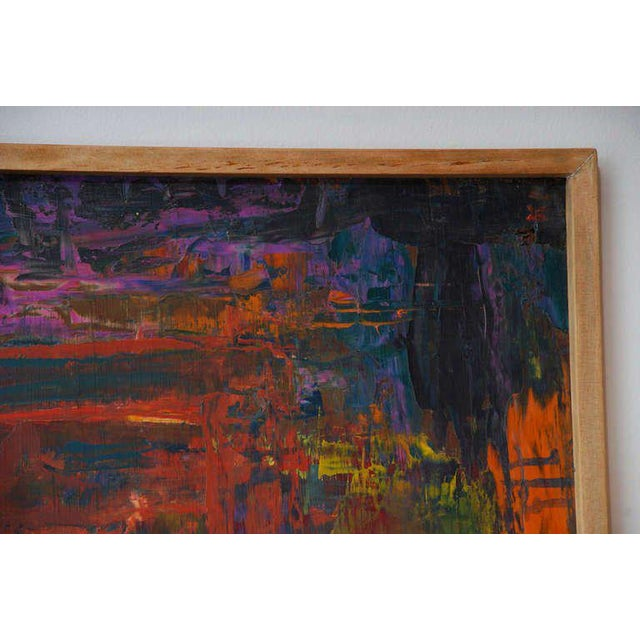 Abstract Oil in Board For Sale - Image 4 of 5