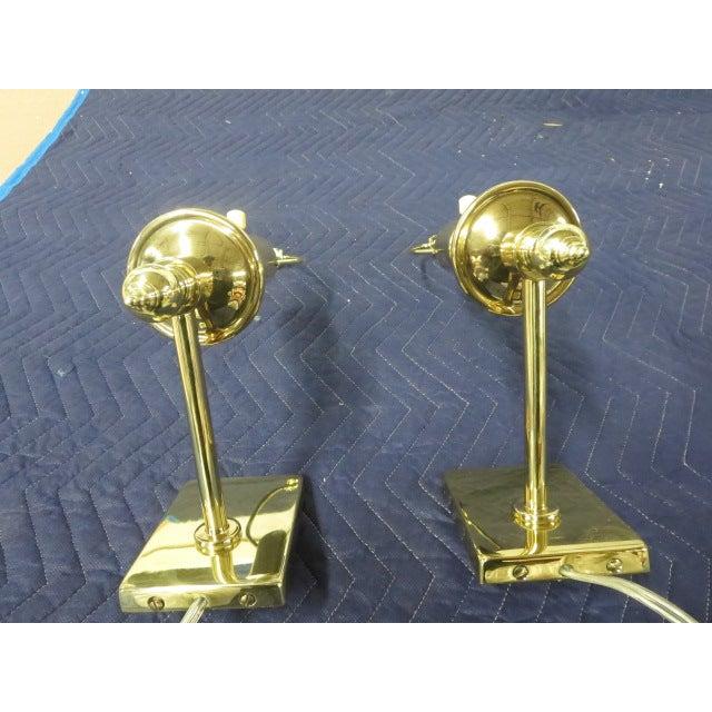 Brass Single Arm Hinson Sconces - 2 - Image 6 of 6