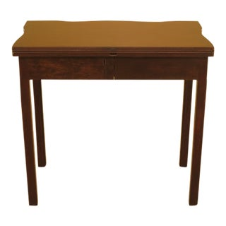 Kittinger Cw-3 Colonial Williamsburg Mahogany Games Table