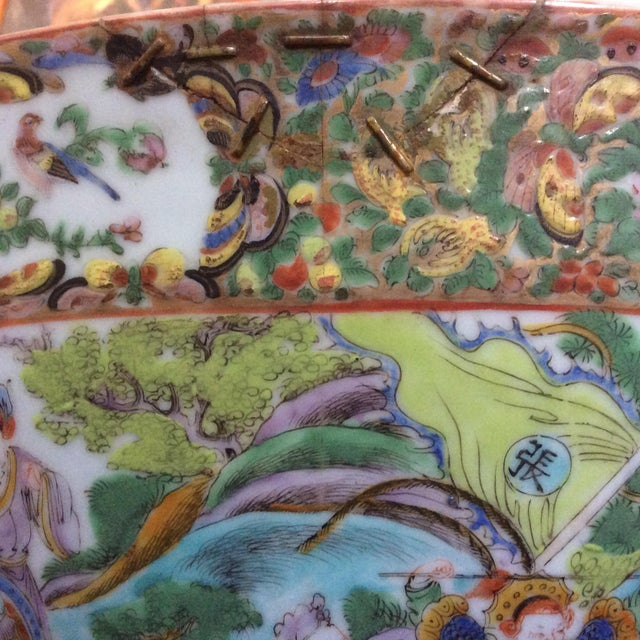 Chinese Export Punch Bowl For Sale In San Antonio - Image 6 of 9