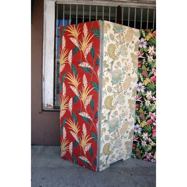 Modern Modern Patterned Room Divider For Sale - Image 3 of 12