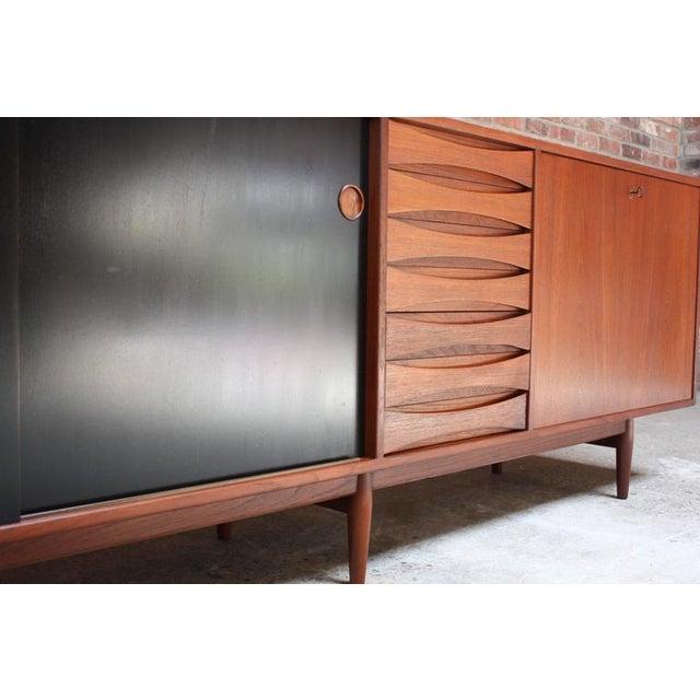 Sibast Møbler Arne Vodder Teak Credenza with Reversible Doors For Sale - Image 4 of 11